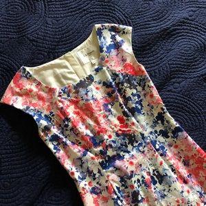 LK Bennett sweetpea floral dress